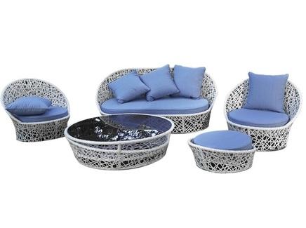 Комплект мебели лаурель (green garden) белый