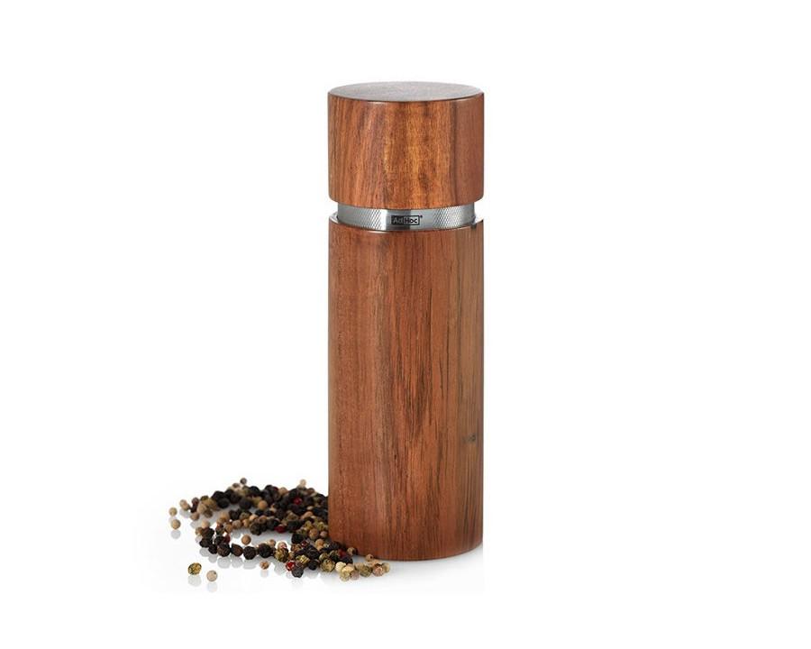 Мельница для соли/перцаНабор для специй<br><br><br>Material: Дерево<br>Высота см: 19