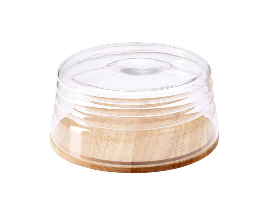 Емкость для сыра ContinentaПодставки и доски<br><br><br>Material: Дерево<br>Высота см: 13