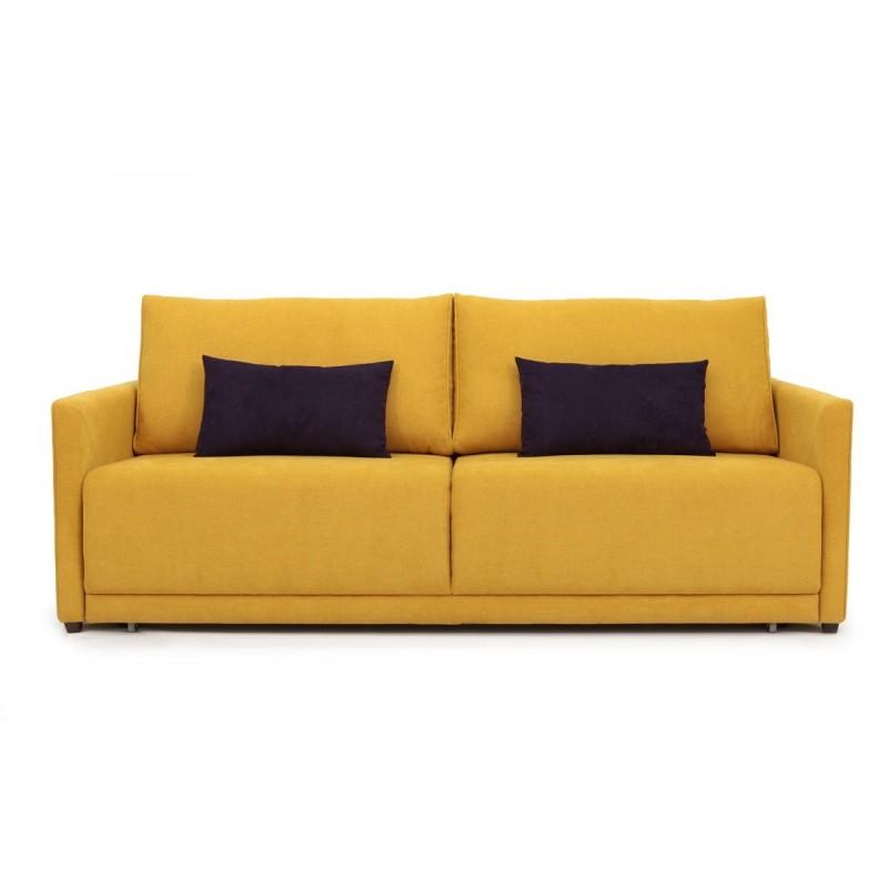 Диван АдельДвухместные диваны<br>&amp;lt;div&amp;gt;Прямой диван &amp;quot;Адель&amp;quot; - это элегантная и стильная модель, которая подойдет практически любому интерьеру! Благодаря легким и вымеренным формам, &amp;quot;Адель&amp;quot; обладает изысканным дизайном, а функциональность дивана позволяет ему трансформироваться в полноценную кровать с вместительным бельевым ящиком. Прямой диван &amp;quot;Адель&amp;quot; обладает анатомическим углом наклона сидения и спинки, что придает Вам дополнительный комфорт и удобство посадки на данной модели.&amp;lt;/div&amp;gt;&amp;lt;div&amp;gt;&amp;lt;br&amp;gt;&amp;lt;/div&amp;gt;&amp;lt;div&amp;gt;Спальное место 150х200 см.&amp;amp;nbsp;&amp;lt;/div&amp;gt;&amp;lt;div&amp;gt;Механизм трансформации Евро-книжка.&amp;amp;nbsp;&amp;lt;/div&amp;gt;&amp;lt;div&amp;gt;&amp;lt;br&amp;gt;&amp;lt;/div&amp;gt;&amp;lt;div&amp;gt;Изделие требует сборки. Подушки и другие декоративные элементы на фотографии - &amp;amp;nbsp;в комплект не входят.&amp;lt;/div&amp;gt;&amp;lt;div&amp;gt;&amp;lt;br&amp;gt;&amp;lt;/div&amp;gt;<br><br>Material: Текстиль<br>Width см: 219<br>Depth см: 111<br>Height см: 98