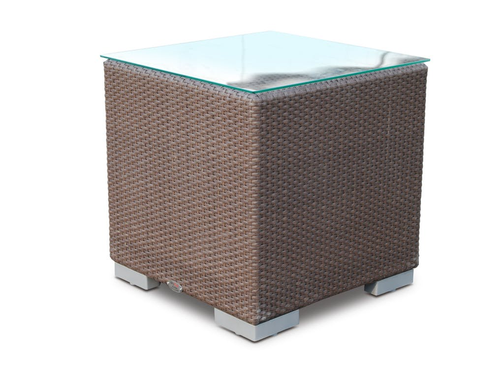 Приставной столикСтолы и столики для сада<br><br><br>Material: Искусственный ротанг<br>Width см: 62<br>Depth см: 62<br>Height см: 63