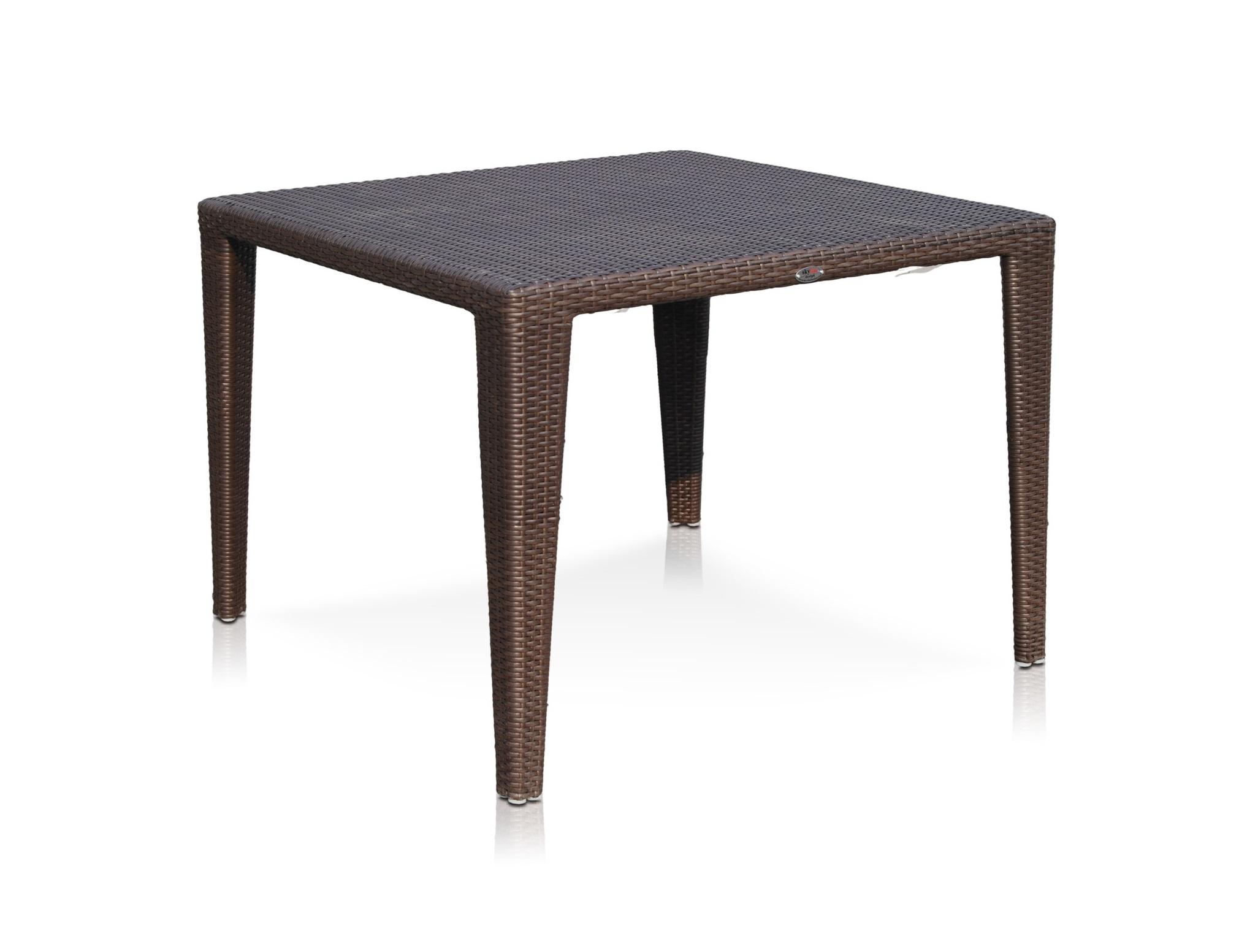 Стол обеденныйСтолы и столики для сада<br><br><br>Material: Искусственный ротанг<br>Ширина см: 100<br>Высота см: 74<br>Глубина см: 100