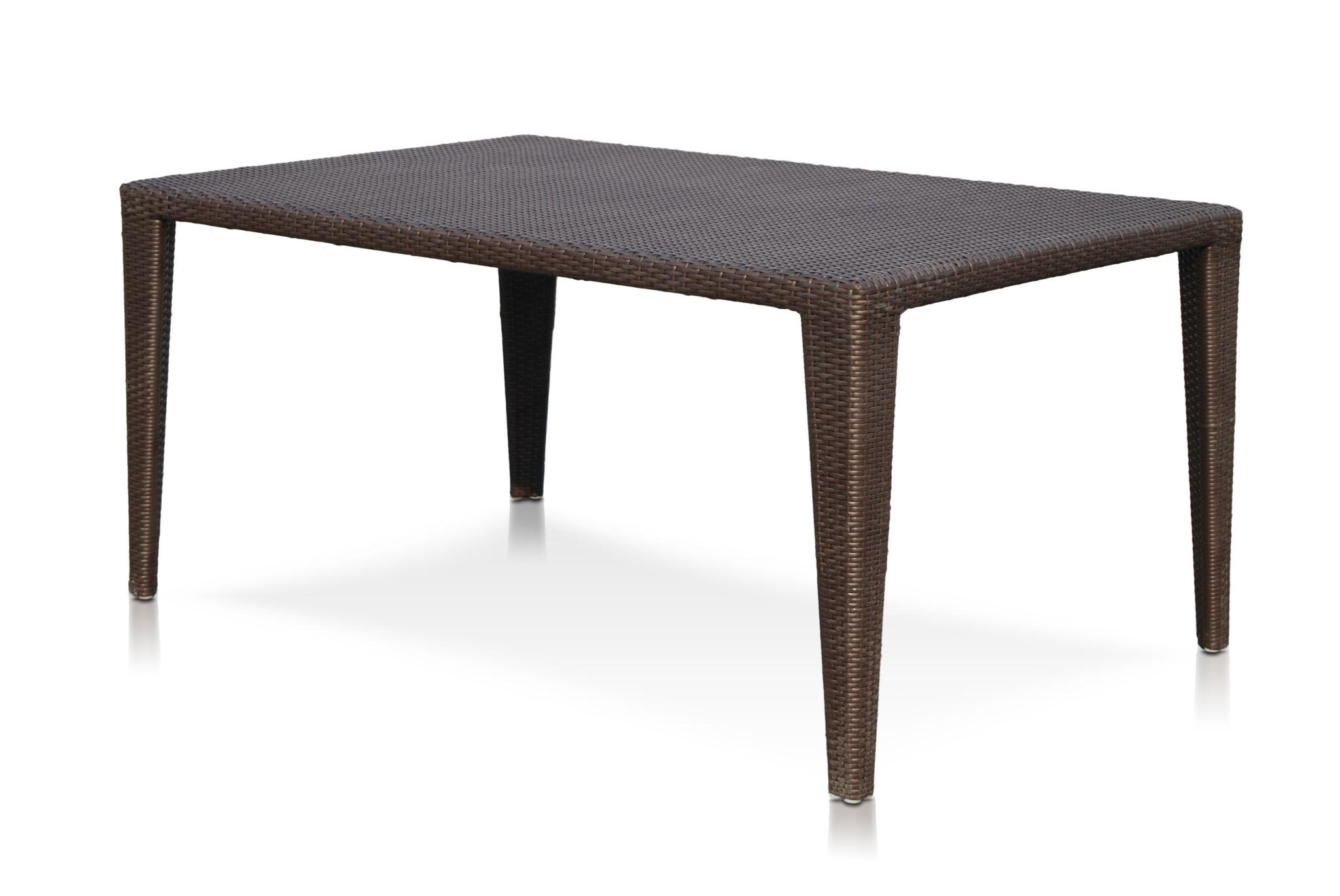 Стол обеденныйСтолы и столики для сада<br><br><br>Material: Искусственный ротанг<br>Ширина см: 200<br>Высота см: 74<br>Глубина см: 100