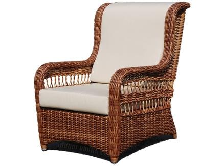Кресло (skyline) коричневый 98x103x80 см.