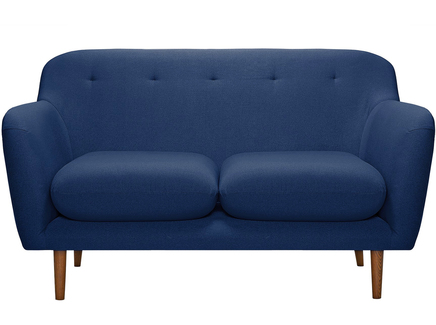Диван oslo (myfurnish) синий 151x83x89 см.