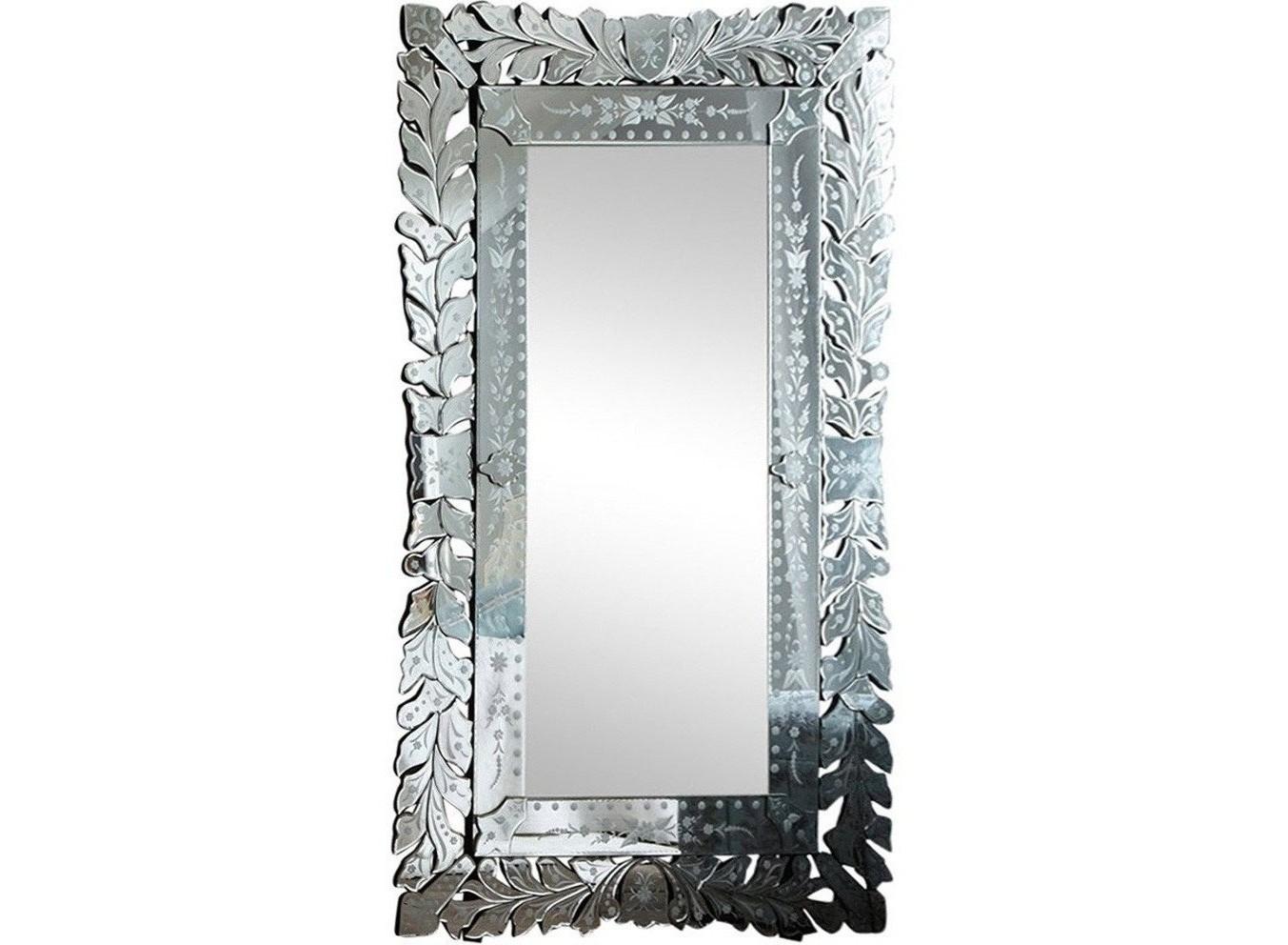 Зеркало Глэм ФлоНапольные зеркала<br><br><br>Material: Стекло<br>Width см: 110<br>Depth см: 3<br>Height см: 200