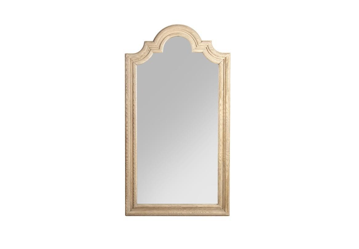"""Зеркало БонерНастенные зеркала<br>Зеркало """"Boner"""" из натурального светлого дуба в стиле французский прованс. Тяжелая рама сглажена классическим изгибами.<br><br>Material: Дуб<br>Width см: 44<br>Depth см: 15<br>Height см: 81"""