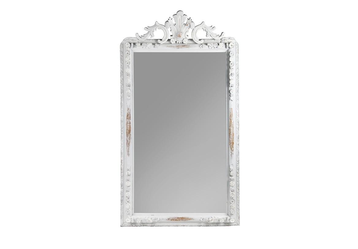 Зеркало БарнНастенные зеркала<br>Зеркало в винтажной раме из массива сосны. Легкие потертости и патинирование создают эффект трогательной старины. Зеркало идеально впишется в интерьеры в стиле кантри или Прованс, станет украшением загородного дома.<br><br>Material: Сосна<br>Width см: 60<br>Depth см: 10<br>Height см: 140