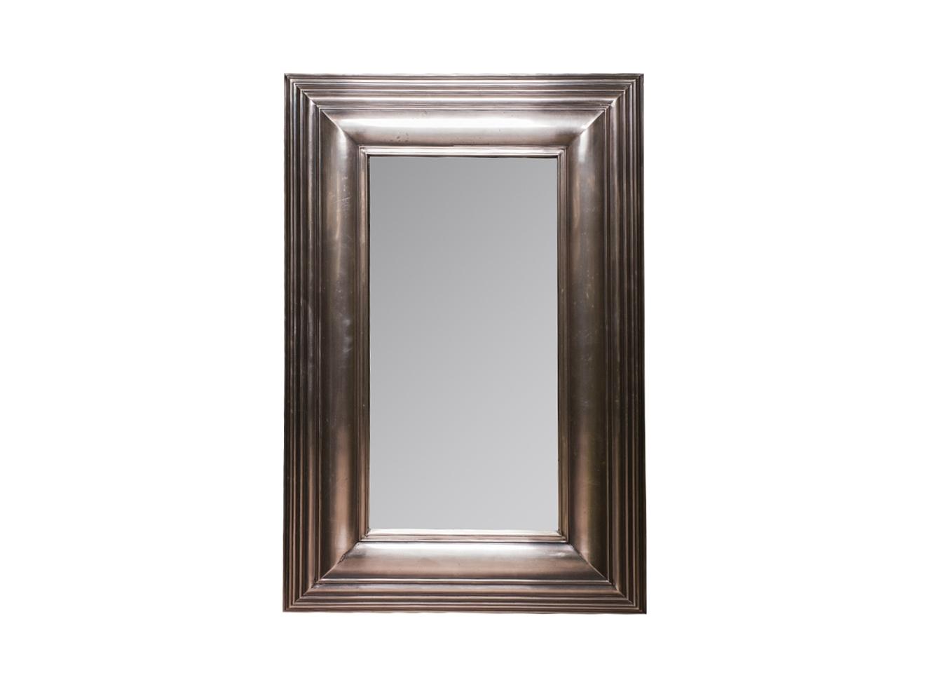 Зеркало ЛевинНастенные зеркала<br>Амальгама зеркала выполнена из натурального серебра, что создает эффект благородной старины.<br><br>Material: Металл<br>Ширина см: 66<br>Высота см: 101<br>Глубина см: 5