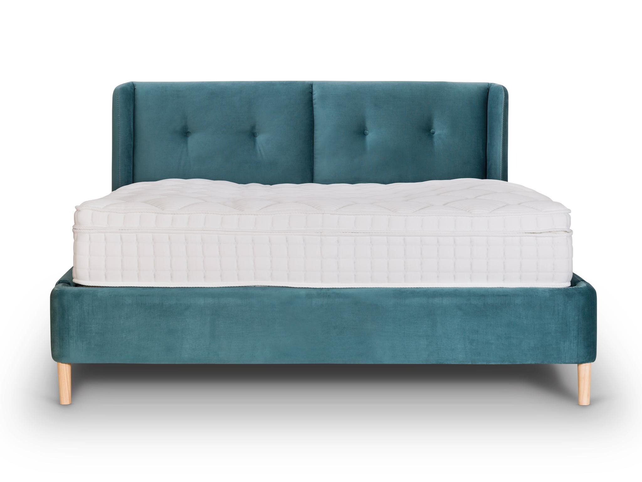 Кровать BrightonКровати с мягким изголовьем<br>Кровать в стиле американских 60-х имеет ненавязчивый дизайн и идеально впишется в интерьер спальни совершенно любого стиля.<br><br>Material: Текстиль<br>Width см: 180<br>Depth см: 200<br>Height см: 110