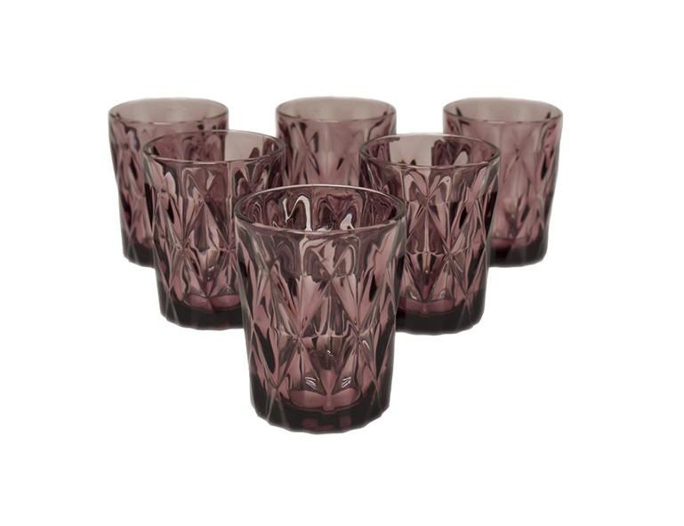 Набор стаканов Алькор (6 шт)Стаканы<br><br><br>Material: Стекло<br>Height см: 10<br>Diameter см: 8