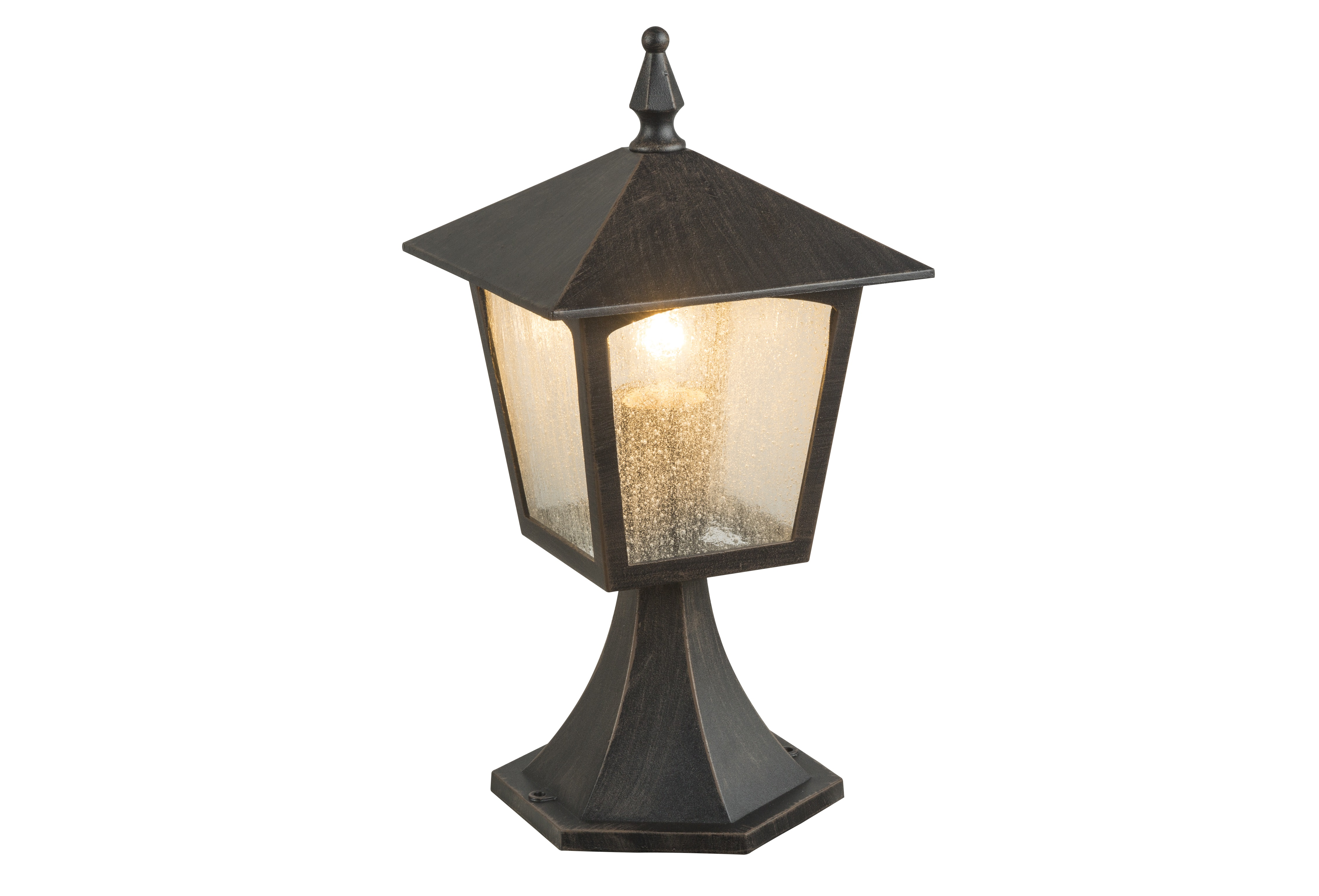 Светильник уличныйУличные наземные светильники<br>&amp;lt;div&amp;gt;Тип цоколя: E27&amp;lt;/div&amp;gt;&amp;lt;div&amp;gt;Мощность: 60W&amp;lt;/div&amp;gt;&amp;lt;div&amp;gt;Кол-во ламп: 1 (нет в комплекте)&amp;lt;/div&amp;gt;<br><br>Material: Металл<br>Ширина см: 18<br>Высота см: 40<br>Глубина см: 18