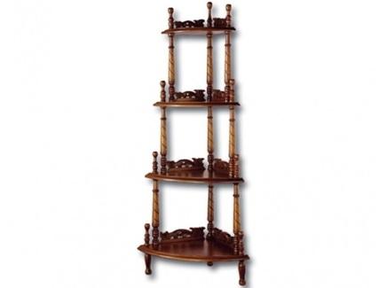 Консоль (satin furniture) коричневый 142x43x63 см.