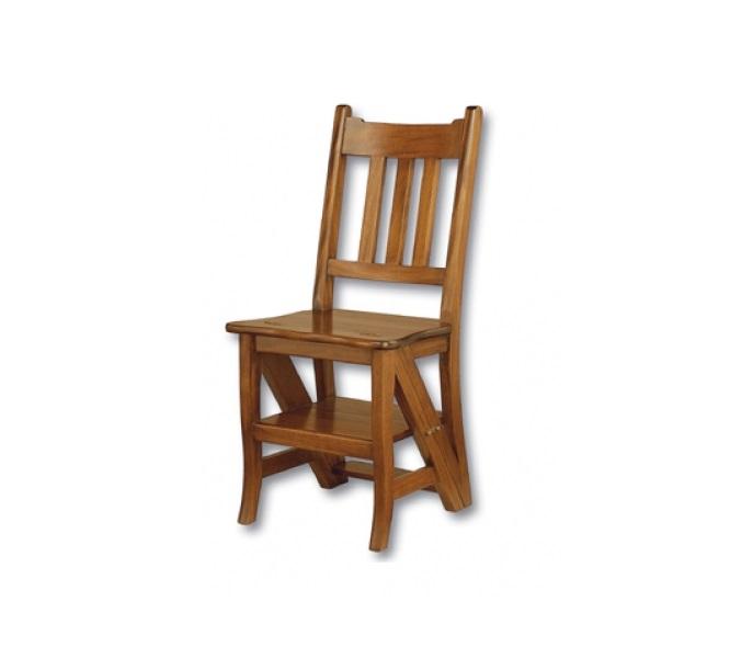 Стул-лестницаОбеденные стулья<br>Ручная работа.<br><br>Material: Красное дерево<br>Width см: 42<br>Depth см: 40<br>Height см: 80