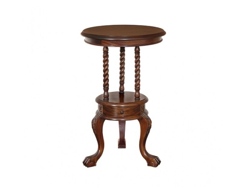 СтоликКофейные столики<br>Ручная работа.<br><br>Material: Красное дерево<br>Высота см: 80