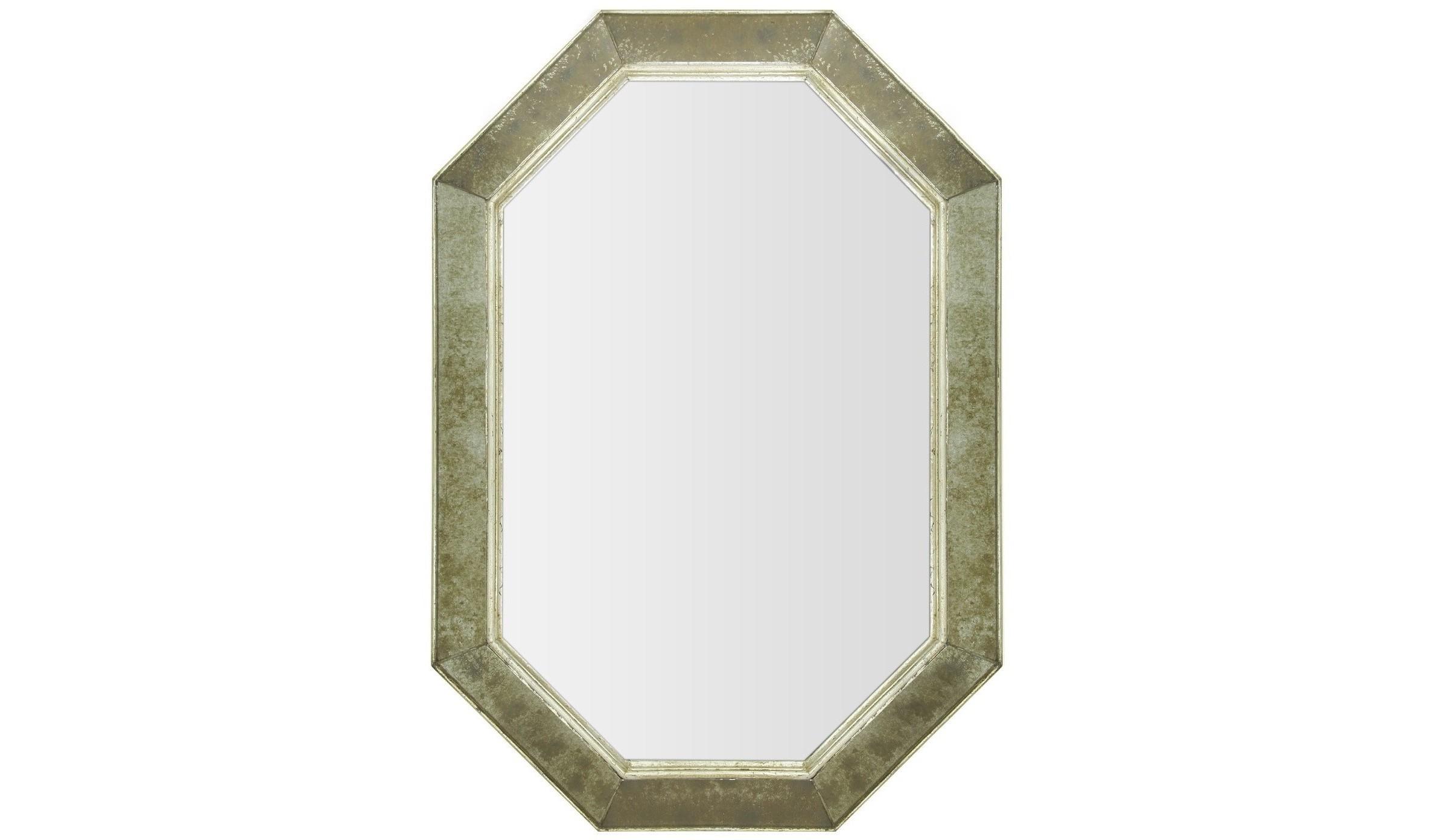 Зеркало ручной работы Жулиан (выгнуто наружу)Настенные зеркала<br>Эксклюзивное зеркало ручной работы выполнено в форме роскошного бриллианта. Над его созданием кропотливо трудились руки самых искусных мастеров. Благодаря гармоничному сочетанию классического и состаренного вручную зеркал, обыкновенный предмет интерьера превратился в настоящее произведение искусства. Оно идеально дополнит пространство прихожей, а также станет центральным элементом в оформлении гостиной или спальни хозяев дома.&amp;amp;nbsp;&amp;lt;div&amp;gt;&amp;lt;br&amp;gt;&amp;lt;/div&amp;gt;&amp;lt;div&amp;gt;Материалы: основа - массив дерева; рама - натуральное дерево, состаренное зеркало серебряной амальгамы; зеркальное полотно - классическое зеркало серебряной амальгамы&amp;lt;/div&amp;gt;<br><br>Material: Дерево<br>Ширина см: 59<br>Высота см: 85<br>Глубина см: 4
