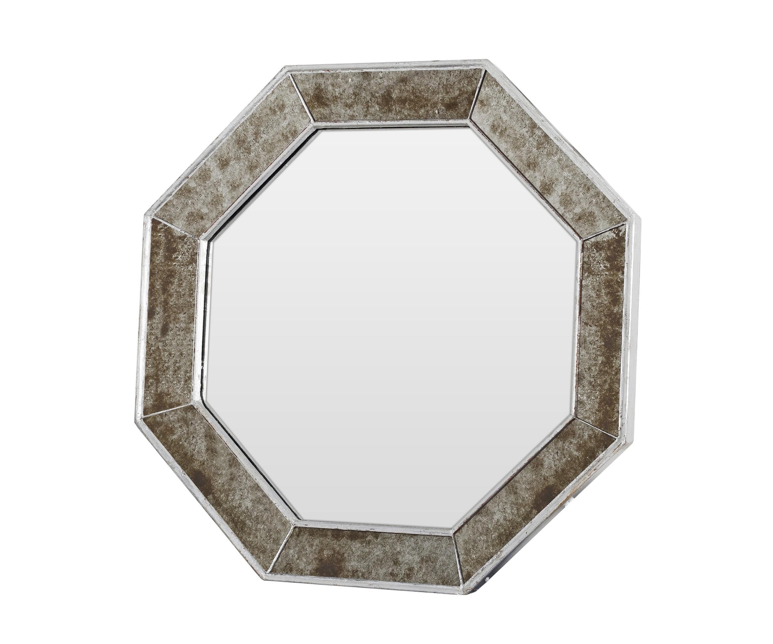 Зеркало ручной работы Старинное серебро (вогнуто внутрь)Настенные зеркала<br>Что отличает это зеркало от других? Душа, которую вложил его создатель в каждую деталь. Руками лучших мастеров достигается удивительный эффект состаривания боковых зеркал, благодаря которому этот дизайнерский предмет выглядит как настоящая семейная реликвия. Необычная вогнутая форма изделия поражает воображение. Зеркало «Старинное серебро» станет настоящим украшением интерьера вашего дома.&amp;amp;nbsp;&amp;lt;div&amp;gt;&amp;lt;br&amp;gt;&amp;lt;/div&amp;gt;&amp;lt;div&amp;gt;Материалы: основа - массив дерева; рама - натуральное дерево, состаренное зеркало серебряной амальгамы; зеркальное полотно - классическое зеркало серебряной амальгамы.&amp;lt;/div&amp;gt;<br><br>Material: Дерево<br>Ширина см: 58<br>Высота см: 58<br>Глубина см: 4