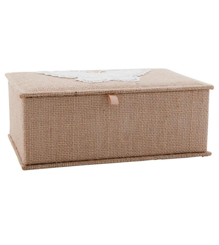 ШкатулкаШкатулки<br>Шкатулка из мягкой обивки в деревенском стиле.<br><br>Material: Текстиль