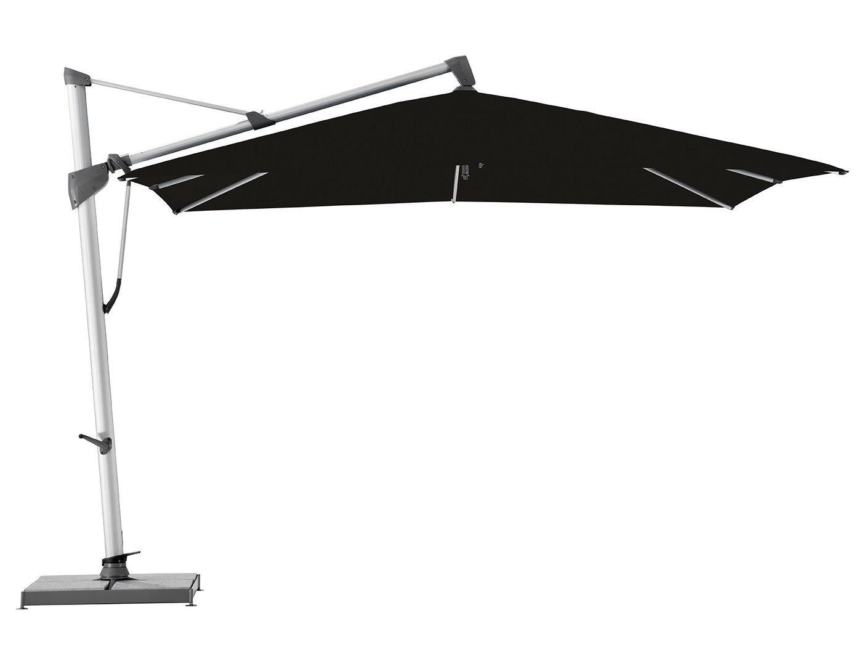 Уличный зонт Sombrano S+Тенты и зонты<br>Квадратный зонт с боковой опорой, каркас из анодированного алюминия.&amp;lt;div&amp;gt;Вращается вокруг своей оси.&amp;amp;nbsp;&amp;lt;/div&amp;gt;&amp;lt;div&amp;gt;Регулируется угол наклона купола.&amp;amp;nbsp;&amp;lt;div&amp;gt;Плотность ткани 250 g/m2.&amp;amp;nbsp;&amp;lt;/div&amp;gt;&amp;lt;div&amp;gt;Максимальная ветровая нагрузка 45км/ч.&amp;amp;nbsp;&amp;lt;/div&amp;gt;&amp;lt;div&amp;gt;В комплект входит:  база 180кг,декоративная крышка для базы, защитный чехол.&amp;amp;nbsp;&amp;lt;/div&amp;gt;&amp;lt;/div&amp;gt;<br><br>Material: Алюминий<br>Width см: 300<br>Depth см: 300<br>Height см: 300