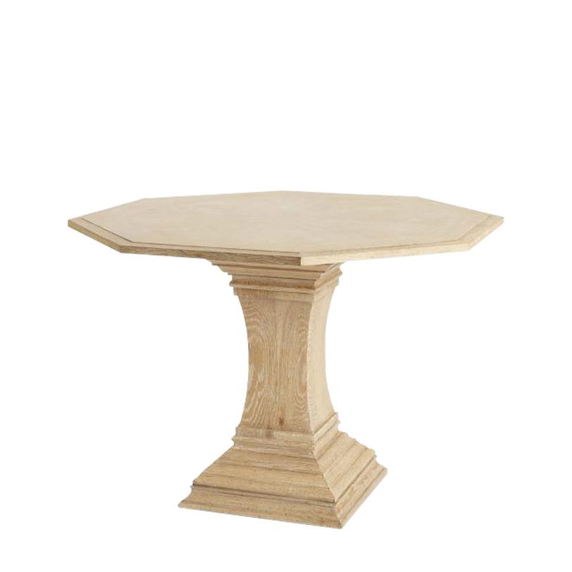 Стол SLOAN CENTERОбеденные столы<br>Объем 0,44 куба<br>Вес 49 кг<br><br>Material: Дерево<br>Height см: 76<br>Diameter см: 114