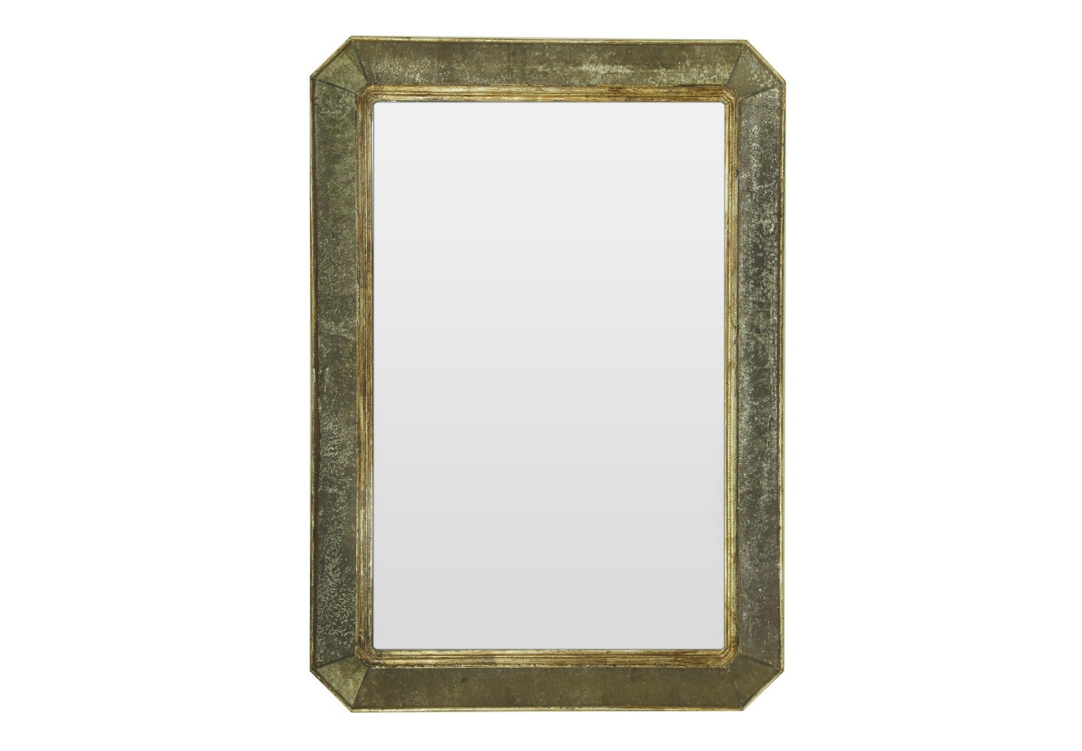 Зеркало ручной работы Королевское счастьеНастенные зеркала<br>Это зеркало создано для тех, кто привык жить с королевским размахом. Особенный шарм изделию придает удивительное сочетание классических и декоративных зеркал. Руками лучших мастеров достигается удивительный эффект состаривания, благодаря которому этот дизайнерский предмет выглядит как настоящая семейная реликвия.  Изящные вставки по краям рамы сглаживают острые углы и делают его более утонченным.&amp;amp;nbsp;&amp;lt;div&amp;gt;&amp;lt;br&amp;gt;&amp;lt;/div&amp;gt;&amp;lt;div&amp;gt;Материалы: основа - массив дерева; рама - натуральное дерево, состаренное зеркало серебряной амальгамы; зеркальное полотно - классическое зеркало серебряной амальгамы.&amp;lt;/div&amp;gt;<br><br>Material: Дерево<br>Ширина см: 57<br>Высота см: 81<br>Глубина см: 4