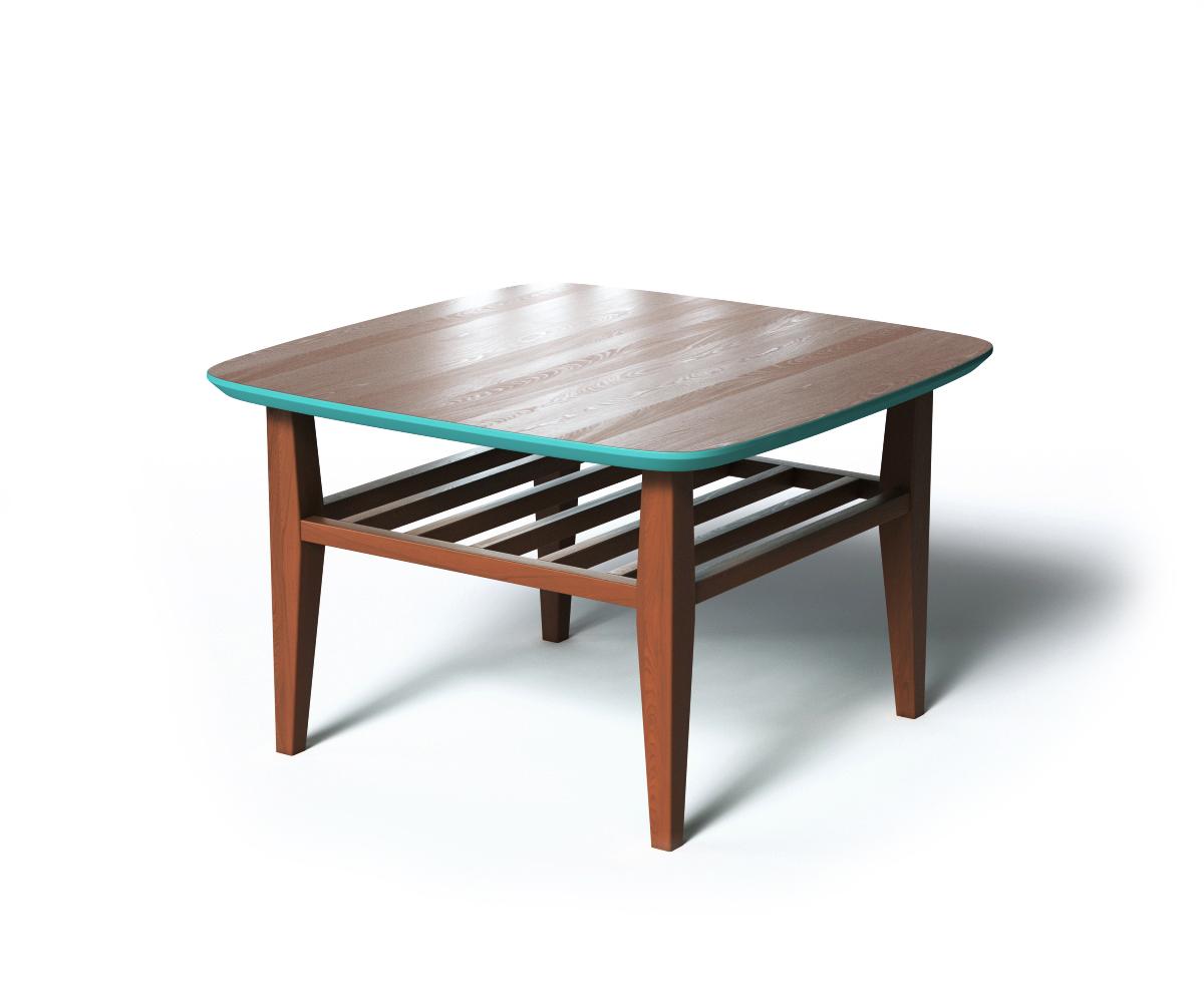Журнальный стол WILSONЖурнальные столики<br>Журнальный стол WILSON является примером традиционного скандинавского дизайна. Универсальный размер стола позволяет использовать его в небольших помещениях, а дополнительная полка сделала стол WILSON еще удобнее.<br><br>Material: Дерево<br>Ширина см: 70.0<br>Высота см: 45.0<br>Глубина см: 70.0