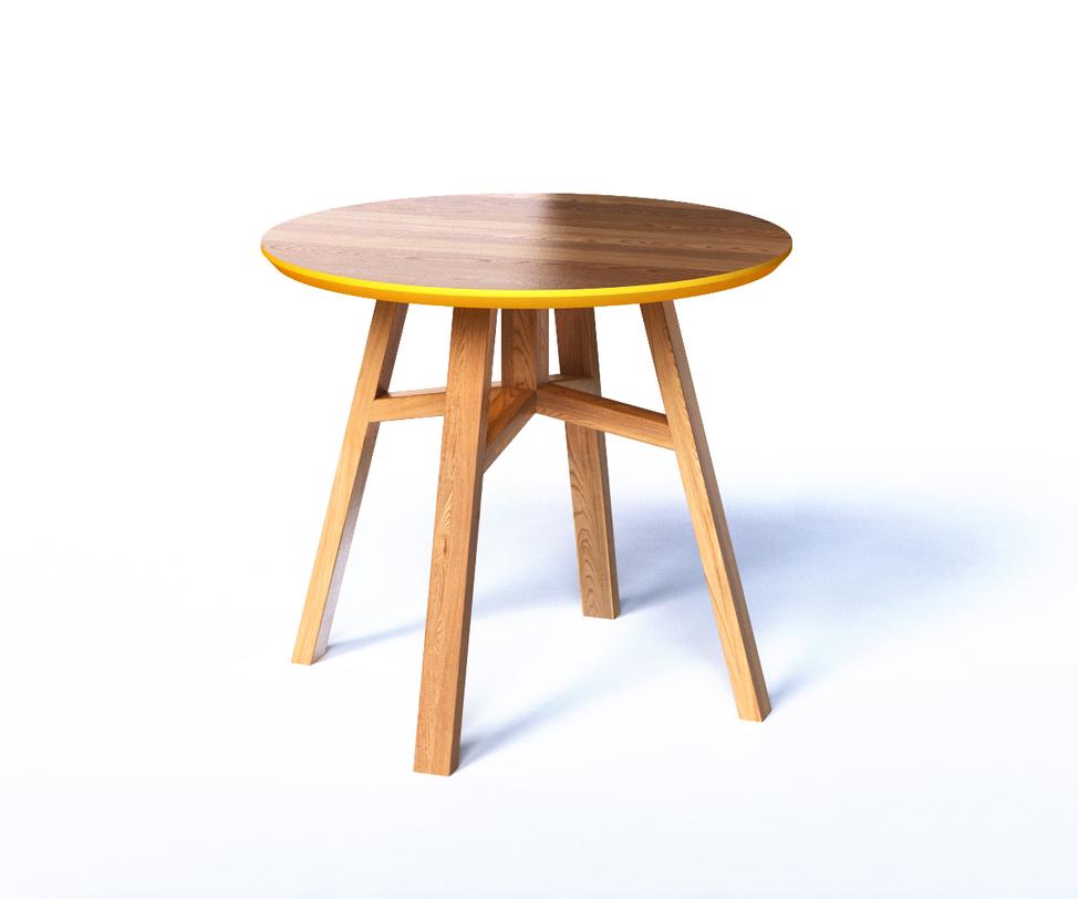Столик MackПриставные столики<br>Журнальный стол MACK - абсолютно универсальный предмет. Это журнальный столик, прикроватный столик и даже столик для детей. Компактный размер и множество вариантов отделки делают стол MACK практичным и индивидуальным.<br><br>Material: Дерево<br>Высота см: 50