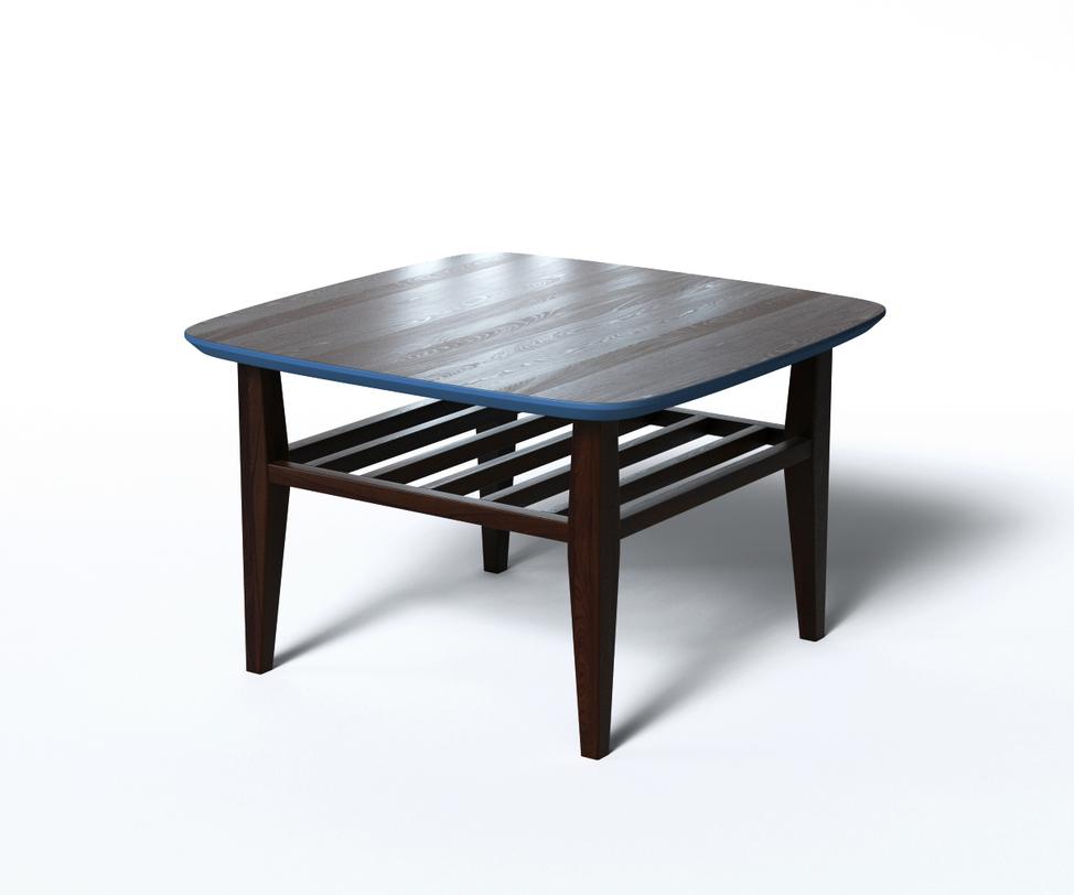 Журнальный стол WilsonЖурнальные столики<br>Журнальный стол Wilson в традиционном стиле изготовлен из натуральной древесины с прекрасным природным рисунком и темным, благородным оттенком. Столешница имеет скругленные края и обрамлена цветной фаской, а под ней находится решетчатая полка для книг и газет.<br>Срок изготовления 10 рабочих дней.<br><br>Material: Дерево<br>Length см: 70<br>Width см: 70<br>Depth см: None<br>Height см: 45<br>Diameter см: None