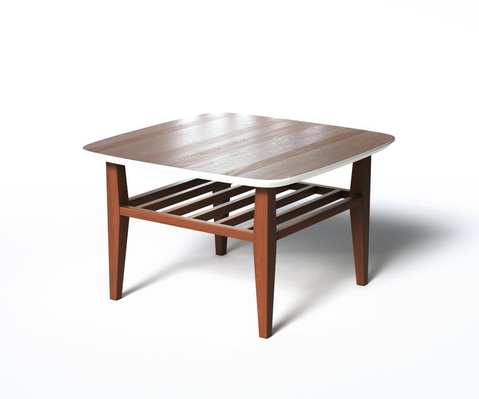 Журнальный стол WilsonЖурнальные столики<br>Журнальный стол WILSON является примером традиционного скандинавского дизайна. Универсальный размер стола позволяет использовать его в небольших помещениях, а дополнительная полка сделала стол WILSON еще удобнее.<br>Срок изготовления 10 рабочих дней.<br><br>Material: Дерево<br>Length см: 70<br>Width см: 70<br>Depth см: None<br>Height см: 45<br>Diameter см: None