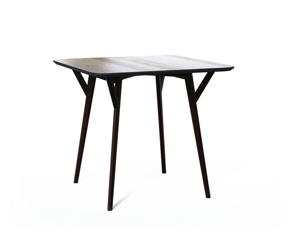 Обеденный стол SQUAREОбеденные столы<br>Стол Square. Не классический квадратный стол от The IDEA. Удобная столешница без острых углов, основание из массива дуба, выверенные пропорции и множество цветов отделки – особенно удачная находка для небольших помещений и общественных пространств.<br><br>Material: Дерево<br>Ширина см: 90<br>Высота см: 75<br>Глубина см: 90