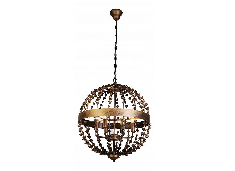 Подвесной светильник Blumen-KugelПодвесные светильники<br>&amp;lt;div&amp;gt;&amp;lt;div&amp;gt;Вид цоколя: E14&amp;lt;/div&amp;gt;&amp;lt;div&amp;gt;Мощность: 40W&amp;lt;/div&amp;gt;&amp;lt;div&amp;gt;Количество ламп: 6 (нет в комплекте)&amp;lt;/div&amp;gt;&amp;lt;/div&amp;gt;<br><br>Material: Металл<br>Высота см: 61