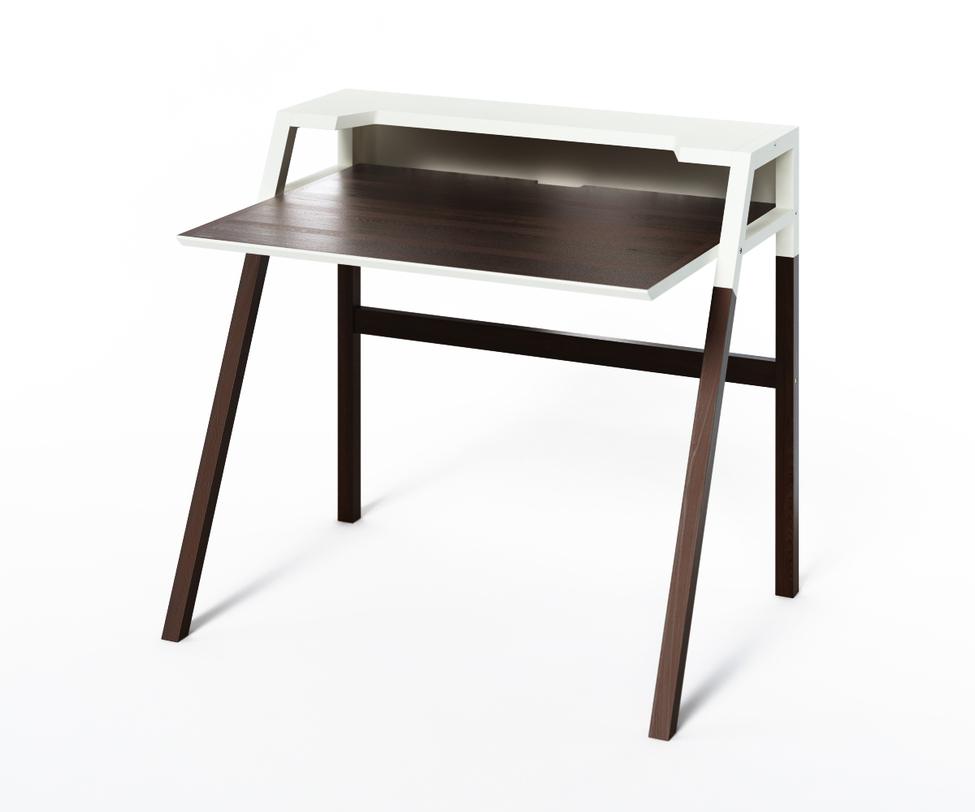 Компьютерный стол YOUKПисьменные столы<br>Монохромный столик из коллекции &amp;quot;Idea&amp;quot; воплощает в себе тренды минимализма и практичности. За комфорт&amp;amp;nbsp;в работе отвечает оптимальная высота корпуса и широкая рабочая поверхность. А классическая бело-черная отделка делает его универсальным решением для монохромных пространств.<br><br>Material: Дерево<br>Length см: None<br>Width см: 70<br>Depth см: 90<br>Height см: 88<br>Diameter см: None