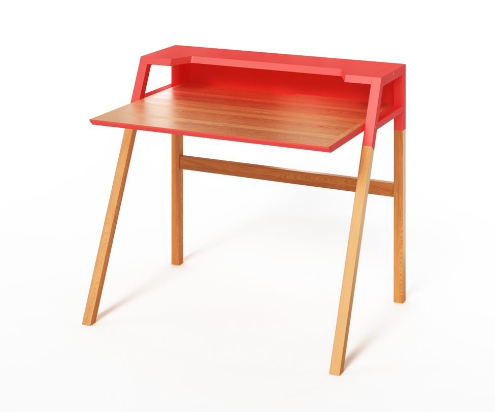 Компьютерный стол YOUKПисьменные столы<br>&amp;lt;p class=&amp;quot;MsoNormal&amp;quot;&amp;gt;Компьютерный стол &amp;lt;span lang=&amp;quot;EN-US&amp;quot;&amp;gt;YOUK&amp;lt;/span&amp;gt; спроектирован в лучших традициях скандинавского дизайна. В<br>нем уживается простота и функциональность. Оригинальность выражается в контрастном оформлении верхней и нижней частей. Красный цвет даст возможность сконцентрироваться на работе. &amp;amp;nbsp;За счет дополнительной полки столик может использоваться<br>и для ноутбука, и для обычного компьютера.&amp;lt;/p&amp;gt;<br><br>Material: Дерево<br>Length см: None<br>Width см: 70<br>Depth см: 90<br>Height см: 88<br>Diameter см: None