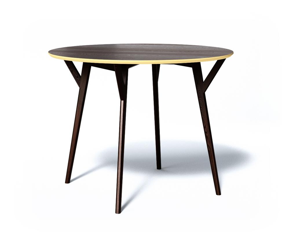 Cтол CircleОбеденные столы<br>Обеденный стол CIRCLE отлично подходит для небольшой компании. Продуманные формы, натуральные материалы и яркие цвета делают стол притягательным центром интерьера.<br>Срок изготовления 10 рабочих дней.<br><br>Material: Дерево<br>Ширина см: 102.0<br>Высота см: 75.0<br>Глубина см: 102.0