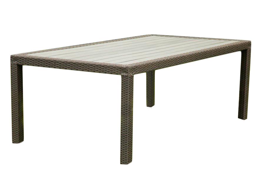 Обеденный стол LAVRAS 165Столы и столики для сада<br>Вес изделия: 25 кг.<br><br>Material: Ротанг<br>Width см: 160<br>Depth см: 105<br>Height см: 75