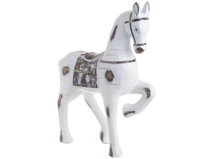 Статуэтка лошадь kotro (to4rooms) белый 21.0x26.0x7.6 см.