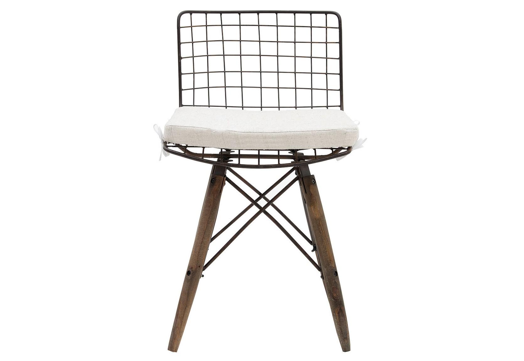 Стул FedrasОбеденные стулья<br><br><br>Material: Металл<br>Ширина см: 42<br>Высота см: 77<br>Глубина см: 50