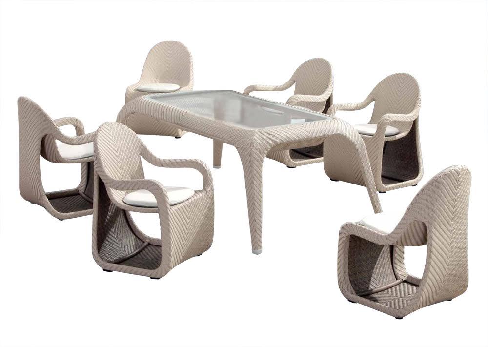 Комплект мебели Патио FoxКомплекты уличной мебели<br>&amp;lt;div&amp;gt;Патио FOX - обеденная группа на 6 персон, столешница со стеклянной накладкой (толщина 8 мм), сплетен из искусственного ротанга, каркас алюминиевый. В комплект входит обеденный стол и шесть стульев (четыре с подлокотниками и два без них).&amp;lt;/div&amp;gt;&amp;lt;div&amp;gt;При этом необычные детали интересны тем, что в нижней части стульев-кресел образуются удобные полости, которые можно использовать для хранения мелких вещей и аксессуаров, а также еще снижается общи вес изделий&amp;lt;/div&amp;gt;&amp;lt;div&amp;gt;&amp;lt;br&amp;gt;&amp;lt;/div&amp;gt;&amp;lt;div&amp;gt;&amp;lt;span&amp;gt;Комплектация: Обеденный стол, шесть стульев-кресел с подушками.&amp;lt;/span&amp;gt;&amp;lt;br&amp;gt;&amp;lt;/div&amp;gt;&amp;lt;div&amp;gt;Размер стола: 220х120х77 см&amp;lt;/div&amp;gt;&amp;lt;div&amp;gt;Размер кресла: 66х66х90 см&amp;lt;/div&amp;gt;<br><br>Material: Искусственный ротанг<br>Ширина см: 66<br>Высота см: 90<br>Глубина см: 66