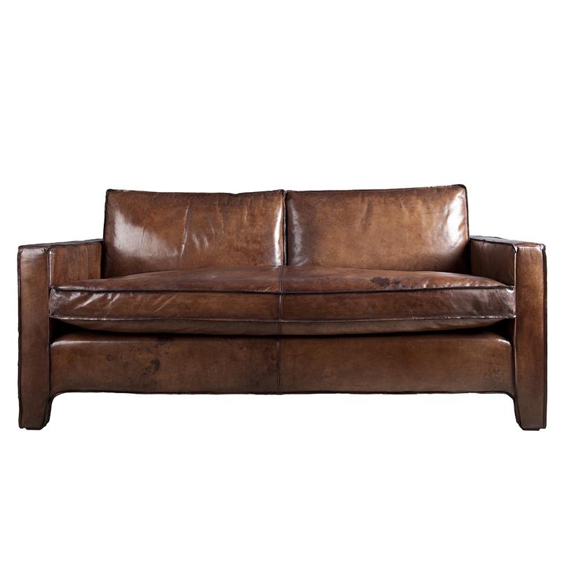 Диван Денмарк-2Кожаные диваны<br>&amp;lt;div&amp;gt;Небольшой кожаный диван подойдет для современных интерьеров в стиле &amp;quot;индастриал&amp;quot; или офисов. Мебельный каркас изготовлен из массива дуба, а обивка — из натуральной кожи естественного &amp;quot;животного&amp;quot; оттенка с характерными пятнами и трещинами. Все швы с декоративной отстрочкой.&amp;lt;/div&amp;gt;<br><br>Material: Кожа<br>Length см: None<br>Width см: 160<br>Depth см: 93<br>Height см: 60<br>Diameter см: None