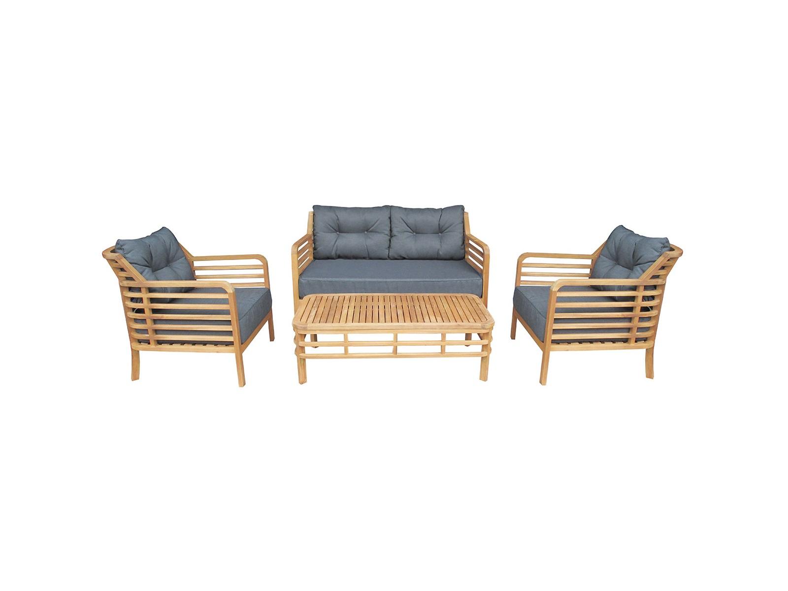 Комплект ColoradoКомплекты уличной мебели<br>Colorado включает два кресла, двухместный диван и стол. Комплект изготовлен из акации, окрашенной в цвет &amp;quot;тик&amp;quot;.<br>Подушки входят в стоимость данного комплекта.&amp;lt;div&amp;gt;&amp;lt;br&amp;gt;&amp;lt;/div&amp;gt;&amp;lt;div&amp;gt;Размеры:&amp;lt;/div&amp;gt;&amp;lt;div&amp;gt;Кресло:<br>Длина: 79,5 см; Ширина: 72 см; Высота: 75 см;&amp;lt;/div&amp;gt;&amp;lt;div&amp;gt;Стол:<br>Длина: 110 см; Ширина: 60 см; Высота: 35 см;&amp;lt;/div&amp;gt;<br><br>Material: Дерево