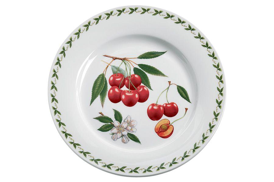 Тарелка обеденная ВишняТарелки<br><br><br>Material: Фарфор