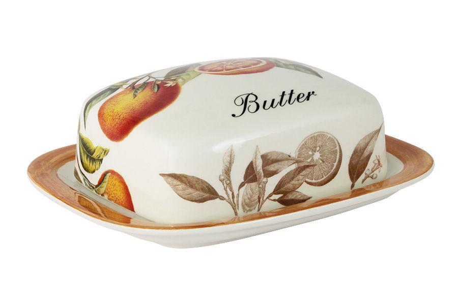 Масленка АпельсиныЕмкости для хранения<br><br><br>Material: Керамика<br>Ширина см: 17<br>Высота см: 6<br>Глубина см: 15