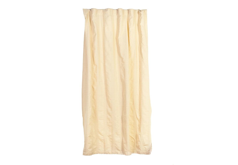 Штора СмартШторы<br>Штора из хлопковой ткани натурального небеленого оттенка с декоративной выработкой.&amp;amp;nbsp;&amp;lt;div&amp;gt;Крепление - внутренние петли.&amp;lt;/div&amp;gt;<br><br>Material: Хлопок<br>Ширина см: 150<br>Глубина см: 260
