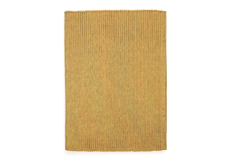 Дорожка ФестСкатерти<br>Нарядная дорожка на стол выполнена из хлопка с блестящей ниткой люрекса.&amp;amp;nbsp;&amp;lt;div&amp;gt;Основной цвет - золотисто-желтый, люрекс цвет золото.&amp;lt;/div&amp;gt;<br><br>Material: Хлопок<br>Length см: None<br>Width см: 33<br>Depth см: 140<br>Height см: None<br>Diameter см: None