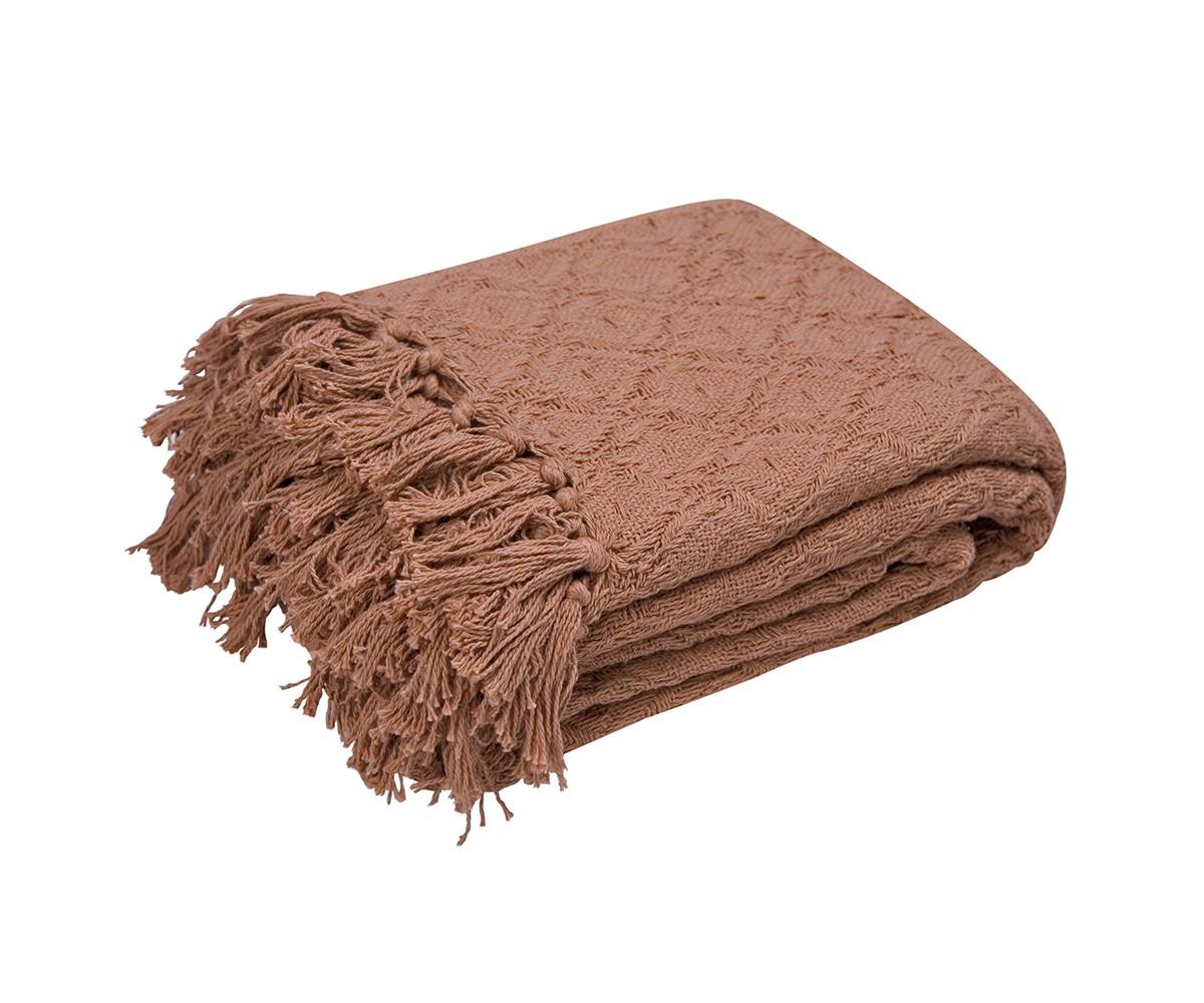 Покрывало ЛайтПокрывала<br>Хлопковое объемное вязаное покрывало шоколадного цвета. Край покрывала оформлен кистями.&amp;amp;nbsp;&amp;lt;br&amp;gt;&amp;lt;div&amp;gt;&amp;lt;span style=&amp;quot;font-size: 14px;&amp;quot;&amp;gt;Плотность&amp;lt;/span&amp;gt;&amp;lt;span style=&amp;quot;font-size: 14px;&amp;quot;&amp;gt;&amp;amp;nbsp;&amp;lt;/span&amp;gt;230г/м.&amp;lt;/div&amp;gt;<br><br>Material: Текстиль<br>Ширина см: 220<br>Глубина см: 240