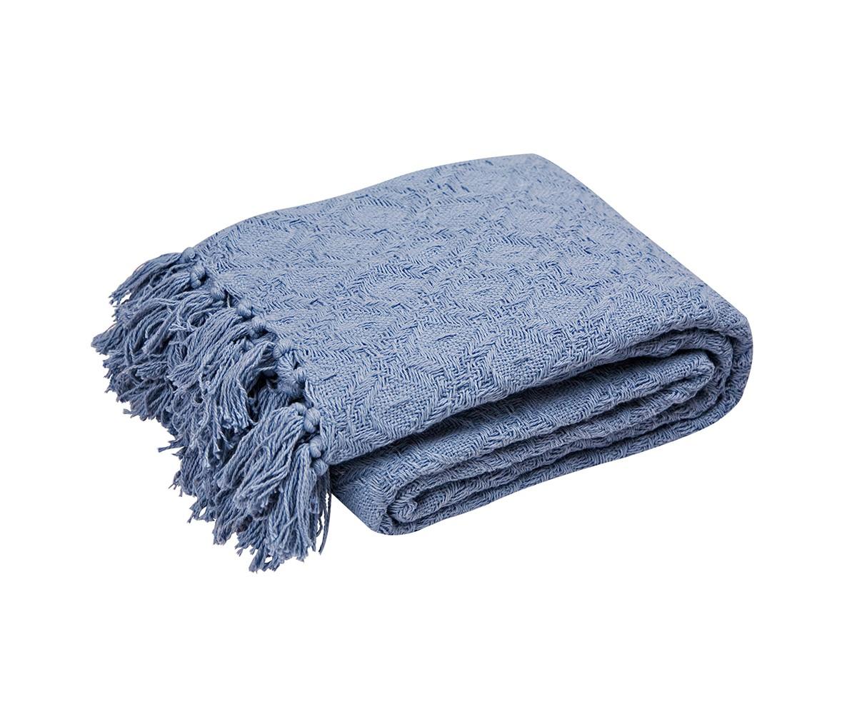 Покрывало ЛайтПокрывала<br>Хлопковое объемное вязаное покрывало натурального джинсового цвета. Край покрывала оформлен кистями.&amp;amp;nbsp;&amp;lt;div&amp;gt;&amp;lt;span style=&amp;quot;font-size: 14px;&amp;quot;&amp;gt;Плотность&amp;lt;/span&amp;gt;&amp;lt;span style=&amp;quot;font-size: 14px;&amp;quot;&amp;gt;&amp;amp;nbsp;&amp;lt;/span&amp;gt;230г/м.&amp;lt;/div&amp;gt;<br><br>Material: Текстиль<br>Length см: None<br>Width см: 220<br>Depth см: 240<br>Height см: None<br>Diameter см: None