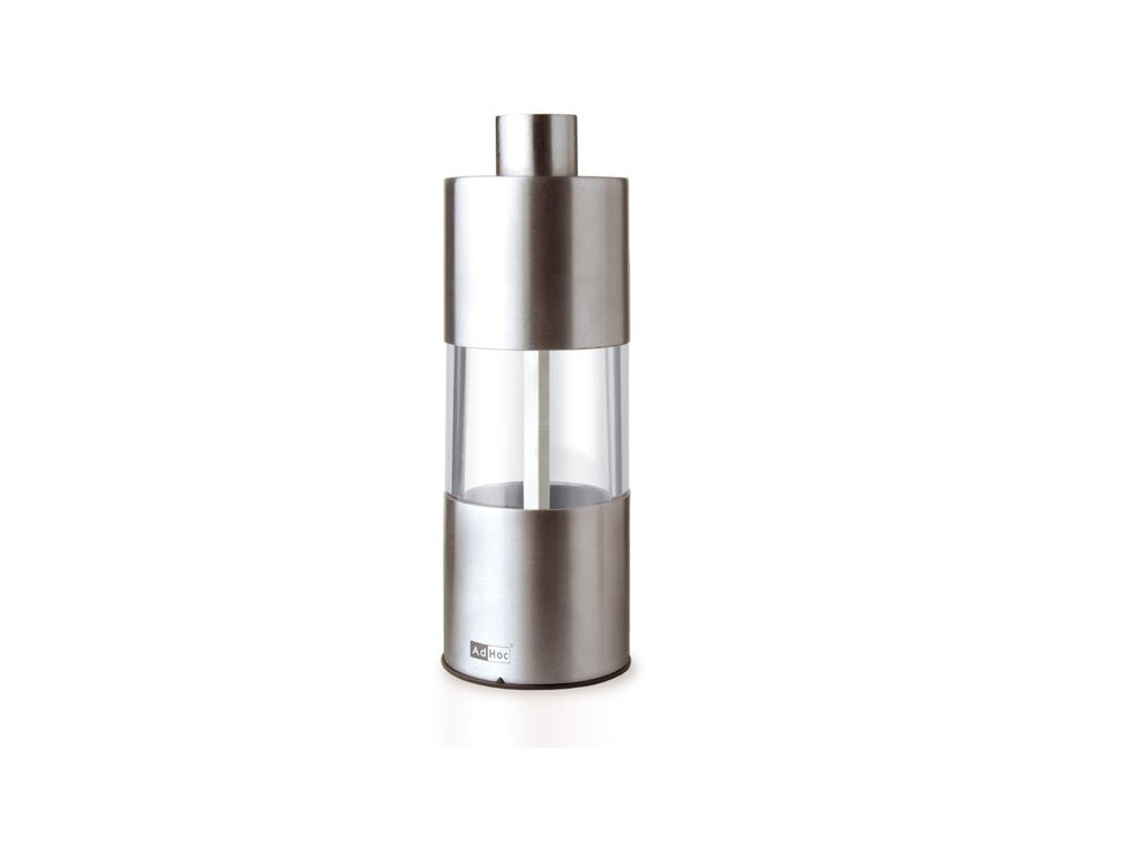 Мельница для соли и перца AdHocАксессуары для кухни<br><br><br>Material: Сталь<br>Высота см: 13