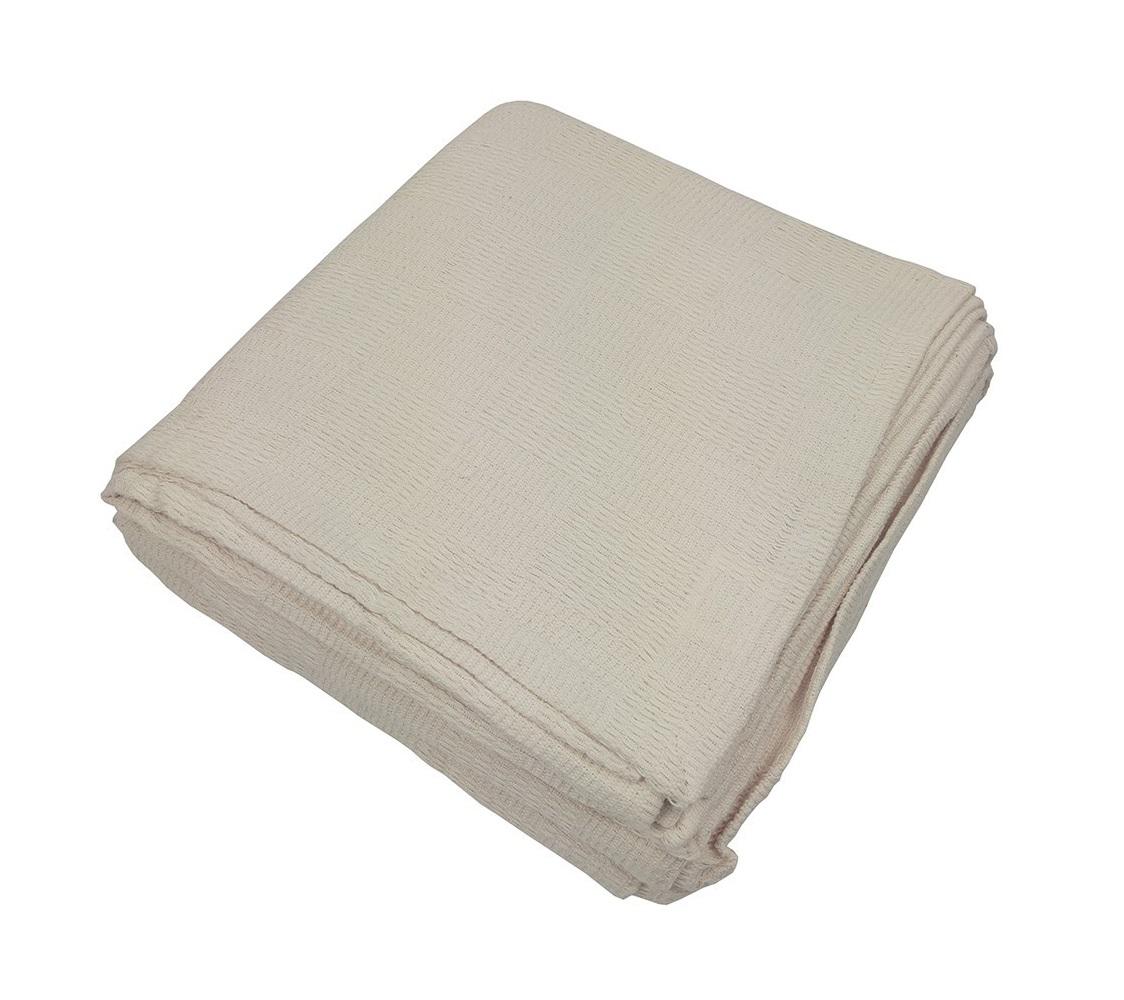 Покрывало Чек таймПокрывала<br>Покрывало из хлопковой ткани натурального небеленого оттенка. Обработка края - подгиб.<br><br>Material: Хлопок<br>Ширина см: 200<br>Глубина см: 240
