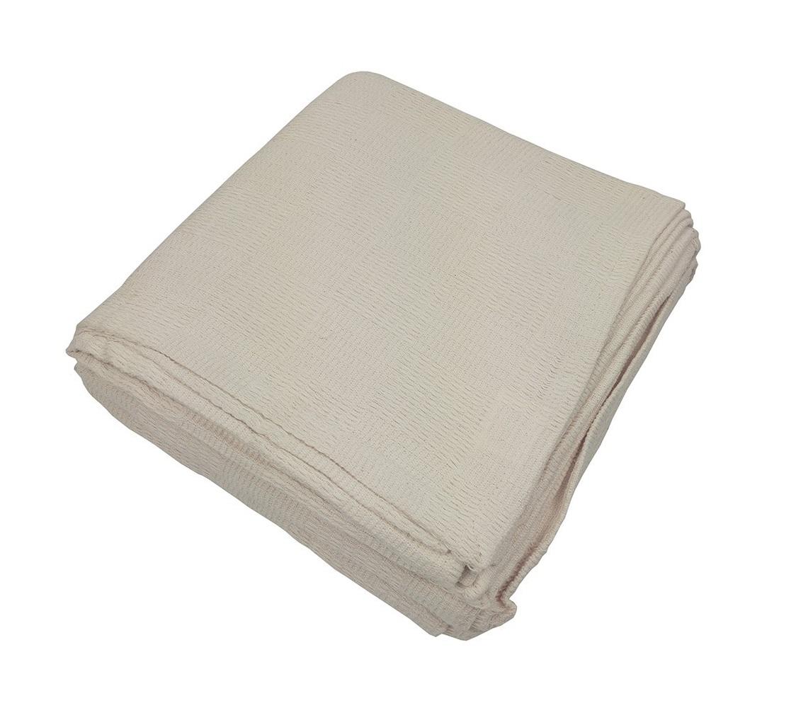 Покрывало Чек таймПокрывала<br>Покрывало из хлопковой ткани натурального небеленого оттенка. Обработка края - подгиб.<br><br>Material: Хлопок<br>Ширина см: 160<br>Глубина см: 220