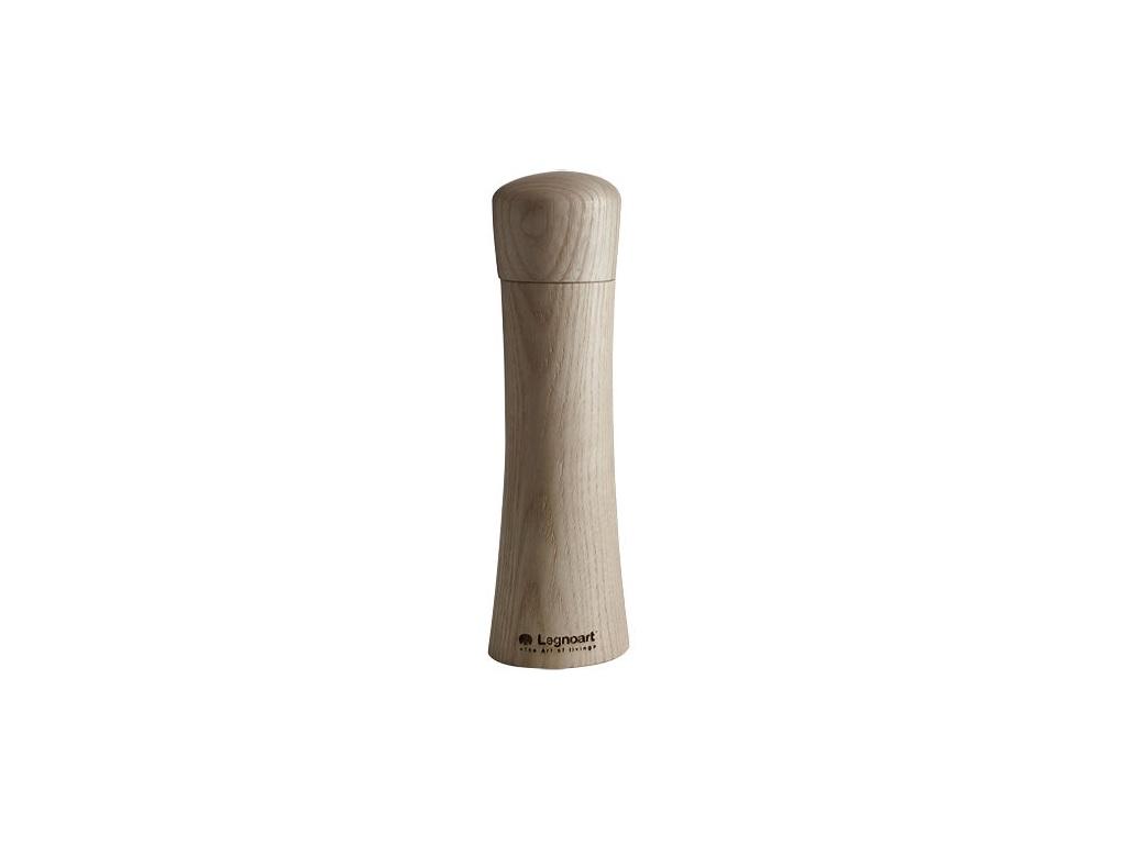 Мельница для соли и перца LegnoartАксессуары для кухни<br><br><br>Material: Дерево<br>Height см: 21,5<br>Diameter см: 5,4